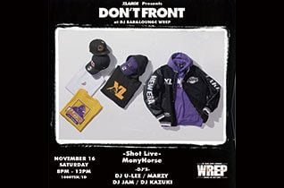 XLARGE Presents DON'T FRONTイメージ